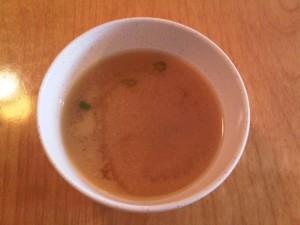 12:11pm Miso soup