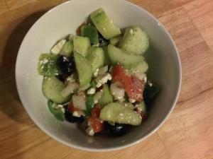 5:33pm Greek salad