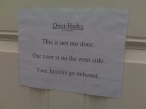 Door Haiku