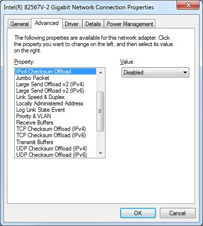 Absolutely horrible network performance for guest VMs on VMware